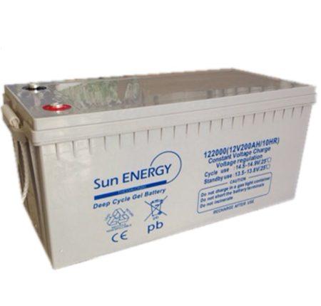 Μπαταρία φωτοβολταικών GEL  12V – 200AH